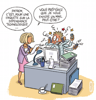 Question sant le stress au travail for Stress travail
