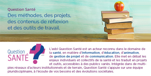 Lettre d'information Question Santé - Header